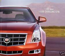 2008 Cadillac CTS sedan new vehicle press kit