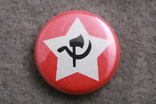 Jiangxi Chinese Soviet Republic China Communist Hammer Sickle Button Pin Badge