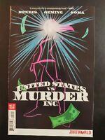 UNITED STATES vs. MURDER Inc. #2a (of 6) Jinxworld (2018 DC Comics) ~ VF/NM Book