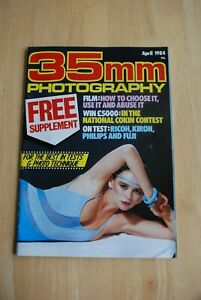 Vintage 35mm PHOTOGRAPHY Magazine April 1984 in colour