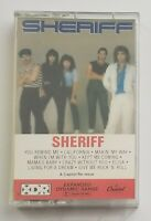 Sheriff Self Titled Cassette Tape 1982 Capitol Records