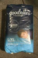 GoodNites Youth Absorbent Underware  L/XL 60-125+ Lbs 11Ct