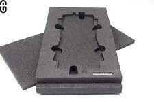 2HE Inlay für 2x Sennheiser A1031-U Antenne; Schaumstoffeinlage; foam inlay