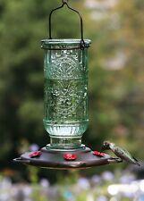 NEW Vintage Antique Glass Bottle Hummingbird Feeder, 20-Ounce Hummingbird Nectar