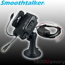 SmoothTalker Universal Cradle Car Charger Dock Window Mount with Antenna Coupler