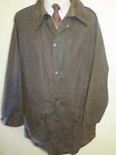 "Vintage Barbour A125 Gamefair Waxed jacket - XL 46"" Euro 56 in Brown"