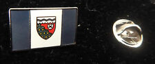 NORTHWEST TERRITORY CANADA FLAG PIN WITH DESCRIPTION - BRAND NEW