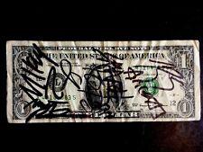 My Chemical Romance Signed Dollar Bill Original Lineup 2004 Rare Rare Rare