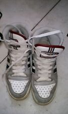 Mens adidas high top g44421 trainers red blue white size 7