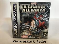 MARVEL LA GRANDE ALLEANZA - GAME BOY ADVANCE GBA - NUOVO SIGILLATO PAL VERSION