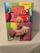 """Austin Powers 9"""" Special Edition Pull String Dr. Evil, Mcfarlane Toys 2000"""