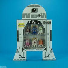 Star Wars Super Ultra Raro EE San Diego Comic Con Exclusive Astromech Droid Pack