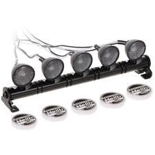 RC Voiture Ronde LED Lumière et Couverture pour 1/10 RC Crawler Axial SCX10 Q7X8