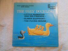 Vintage 1969 Vinyl LP Children's Record Walt Disney The Ugly Duckling