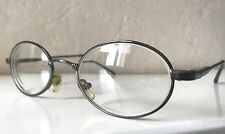 Mens Vintage Retro Metal Frame Oval Prescription Glasses Spectacles