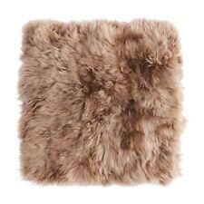 """SKOLD Cushion cover, sheepskin, beige, 20x20 """" New"""