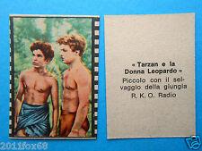 figurines figuren figurine nannina 1950 r.k.o. tarzan e la donna leopardo cinema