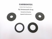 SHIMANO REEL PART Calcutta TE400 (4) Smooth Drag Carbontex Drag Washers #SDS44