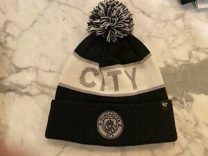 New 47 Brand Manchester City FC Winter Beanie Hat