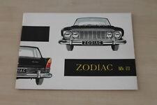184634) Ford Zodiac Mark III Prospekt 09/1962