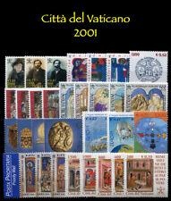 2001 Città del Vaticano Annata completa MNH