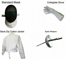 Standard Epee 4 Pieces Beginner Set - Right Handed Size Small