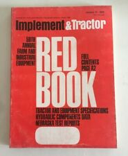 1975 Farm Tractor and Implement Red Book International John Deere Ford Oliver