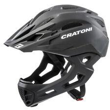 Cratoni C-Maniac Fahrradhelm - Schwarz, Gr. S/M