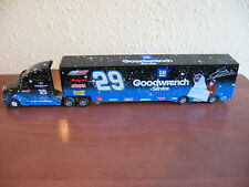 2002 Kevin Harvick #29 GM Goodwrench / E.T. 1/64 Winners Circle Hauler