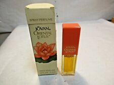 Jovan Oriental Lotus Spray Perfume 3/8 oz Bottle with Box - Full good shape - NR