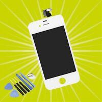 Affichage LCD Pour IPHONE 4 Blanc Verre Écran Tactile Retina Neuf & Ovp