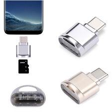 Alliage USB 3.1 Type C Micro SD TF Lecteur De Carte OTG