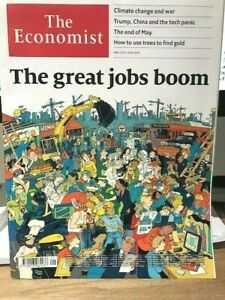 MAGAZINE THE ECONOMIST N°21 - May 25th-31st 2019 - The great jobs boom TBE