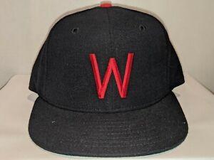 Washington Senators Nationals Cooperstown New Era 59/50 Hat Cap 6 7/8 NEW