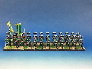 15mm SYW Seven Years War WGS painted Saxony Rochow Fusiliers YA8
