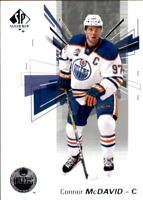 2016-17 SP Authentic Hockey #97 Connor McDavid Edmonton Oilers
