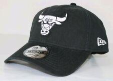 Chicago Bulls New Era NBA Black White 9TWENTY adjustable Size Dad Cap