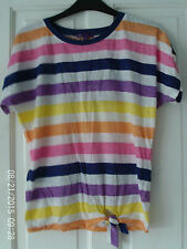 AGED 11 STRIPED  T SHIRT BY MARKS AND SPENCER