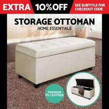 Bedroom White Ottomen