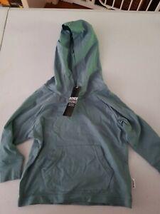Bonds Baby originals Long Sleeve Hoodie Top green Size 00 free post 6-9months