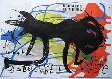 MIRO JOAN LITHOGRAPHIE SIGNÉ 1973 DERRIERE LE MIROIR DLM N°203 SIGNED LITHOGRAPH