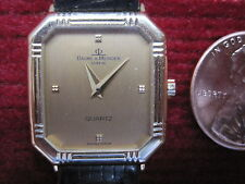 BAUME & MERCIER Certified GENEVE 18K GOLD Ladies Watch CLASSIMA PM Quartz wrist