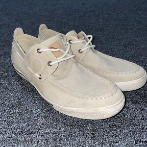 Tommy Bahama Calderon Men's Casual Shoes Size 8.5 Canvas Beige