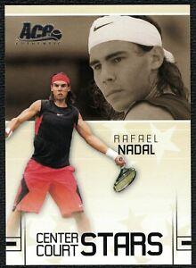 2006 Ace Authentic Grand Slam Center Court Stars #CC-17 Rafael Nadal