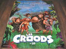 LES CROODS - Chris Sanders - AFFICHE ORIGINALE 120cm/160cm (2013)