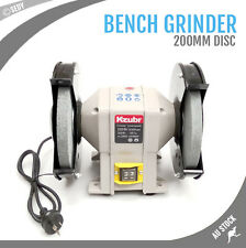 "8"" 200mm Bench Grinder Grinding WIth Polishing Stone Sharpener Industrial Tool"