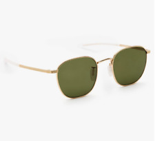 Krewe Banks 18K Titanium Mirror Polarized Sunglasses (AS IS)