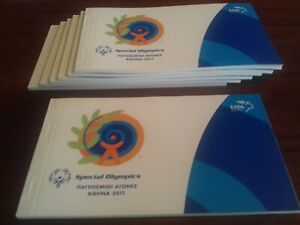 GREECE  2011     OLYMPIQ GAMES       BOOKLET  X    7      MNH