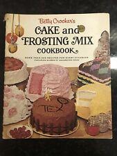 VINTAGE Recipes COOKBOOK Betty Crocker's Cake & Frosting Mix 1966 RARE Cook Book