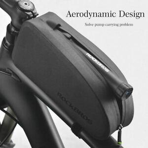 AU Stock ROCKBROS Waterproof Large Capacity Bike Bag Cycling Top Tube Frame Bag